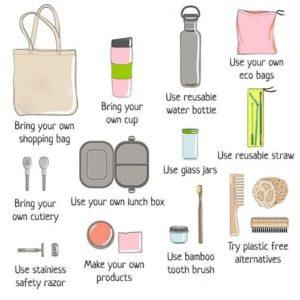 5 tips to start zero waste lifestyle.