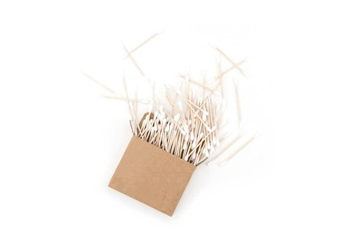 Pack of bamboo q-tips.