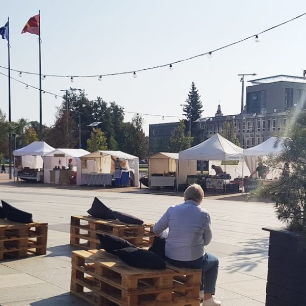 Farmer's Market in Europos